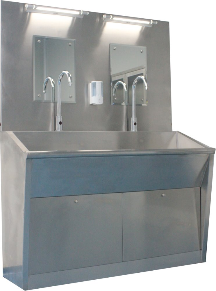Fluxman Hospital medical stainless steel hand washing sink
