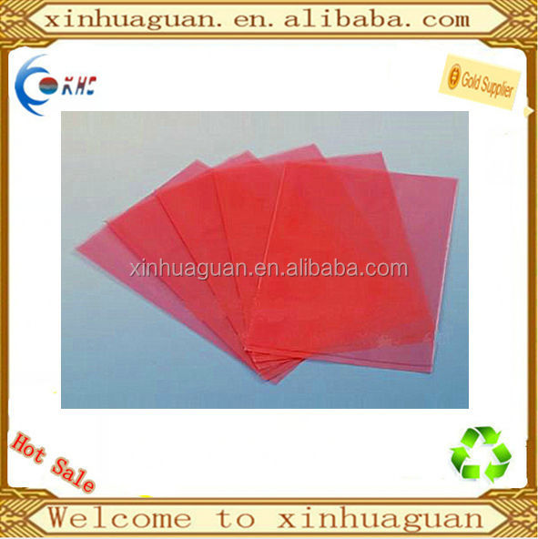 hot sell LDPE pink color poly bag