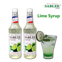 Sweet Taste Lime Flavoured Syrup Food Flavouring Essence Beverage Drinks 900ML