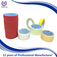 wholesale cheap waterproof brown masking tape/Automotive Color Masking Tape
