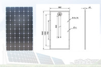 156*156 cells and easy install mono and poly different poly solar pv module panel