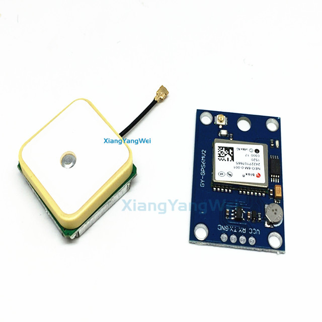 GY-NEO6MV2 new NEO-6M GPS <strong>Module</strong> NEO6MV2 with Flight Control EEPROM MWC APM2.5 large antenna for arduino