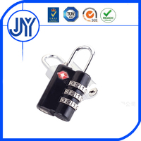 TSA007 combination zinc alloy luggage colorful style fashion cheap cute padlock
