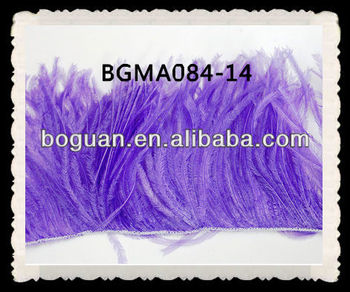 Wholesale Ostrich Feather Fringe Lavender