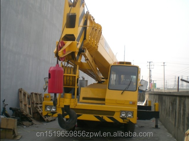 40 50 ton used KATO Truck mounted Crane NK500E mobile crane Good working condition for sale