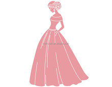 New design <strong>craft</strong> with high quality princess cutting dies with low price