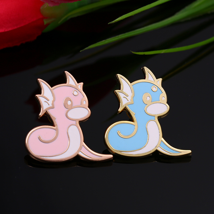 China goedkope metalen cartoon custom email revers pin