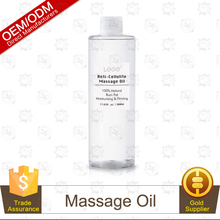 OEM All Natural Ingredients Anti-Cellulite Massage Oil Aromatherapy Essential Oils for Healing-Deep Tissue Massage Oil 500ml