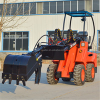 4WD mini wheel loader DY620 articulated small wheel loader