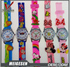 Different Colors Children Wristwatches Best Gift for Kids Cartoon Kids Silicone Watch