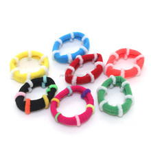 Yiwu colorful new type of elastic rubber hair bands for kids