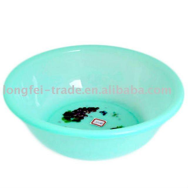 crystal plastic basin