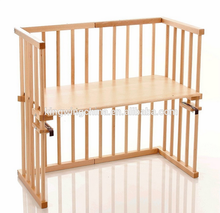 baby cot attaches to bed / bedside baby crib