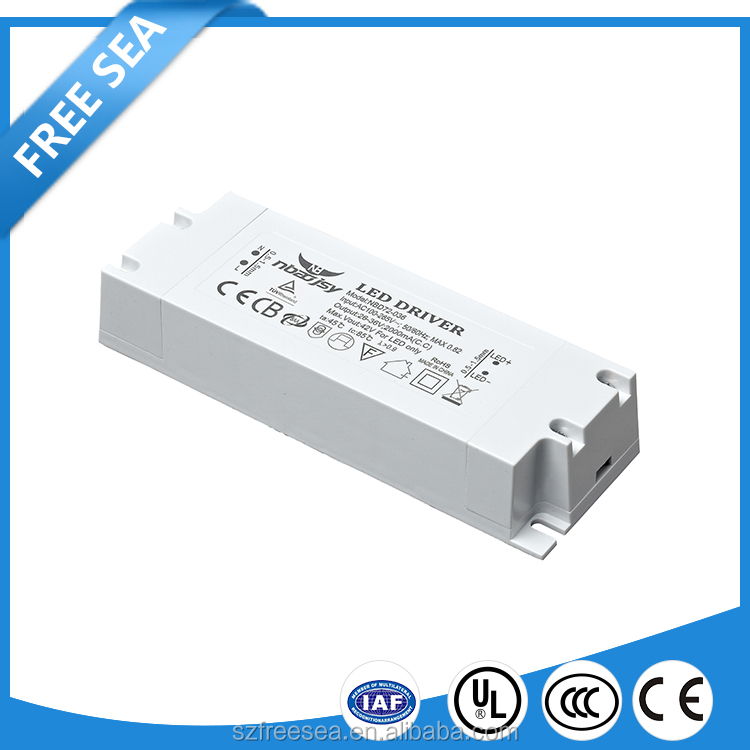 Passive PFC IP 20 indoor use 5w 700mA Led driver switching power supply