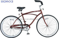 Beach Cruiser bike 26inch Beach bicycle female beach bike chopper crusier bike