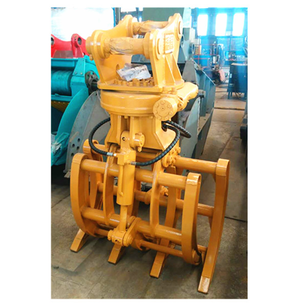hydraulic rotating grapple for 6 ton excavator