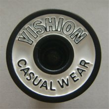 2010 Fashion metal jeans button yishion Lady buttons
