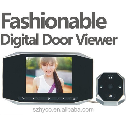 "3.5"" infrared digital door peephole viewer"