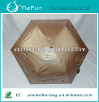 21inch x 6k uv protection rain umbrella super light umbrella