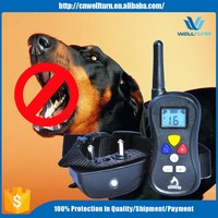 Hot 300 Meters Range Lcd Display Pet Dog Bark Shock And Vibration Training Collar