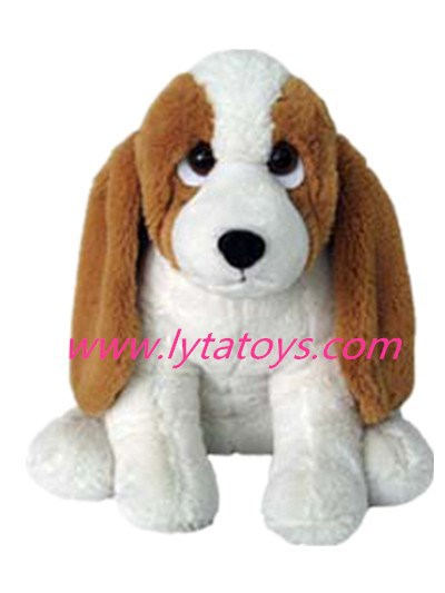 Lovely Plush Toy Sitting Dog For Boys