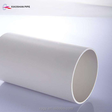 "Heat resistant 6"" pvc pipe plastic tube for drinking water supply"