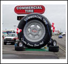 NB-TY2002 high quality inflatable wheel/ tire for outdoor promotion