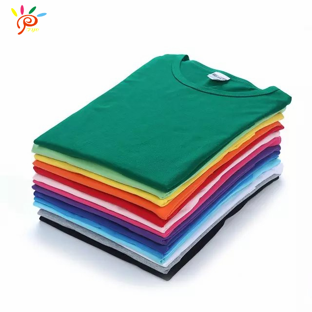 Free DIY design custom made bulk blank printed T-shirt