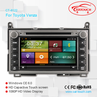 Touch screen Car DVD GPS for Toyota Venza Car DVD Gps Navigation System with Bluetooth TV Ipod Usb