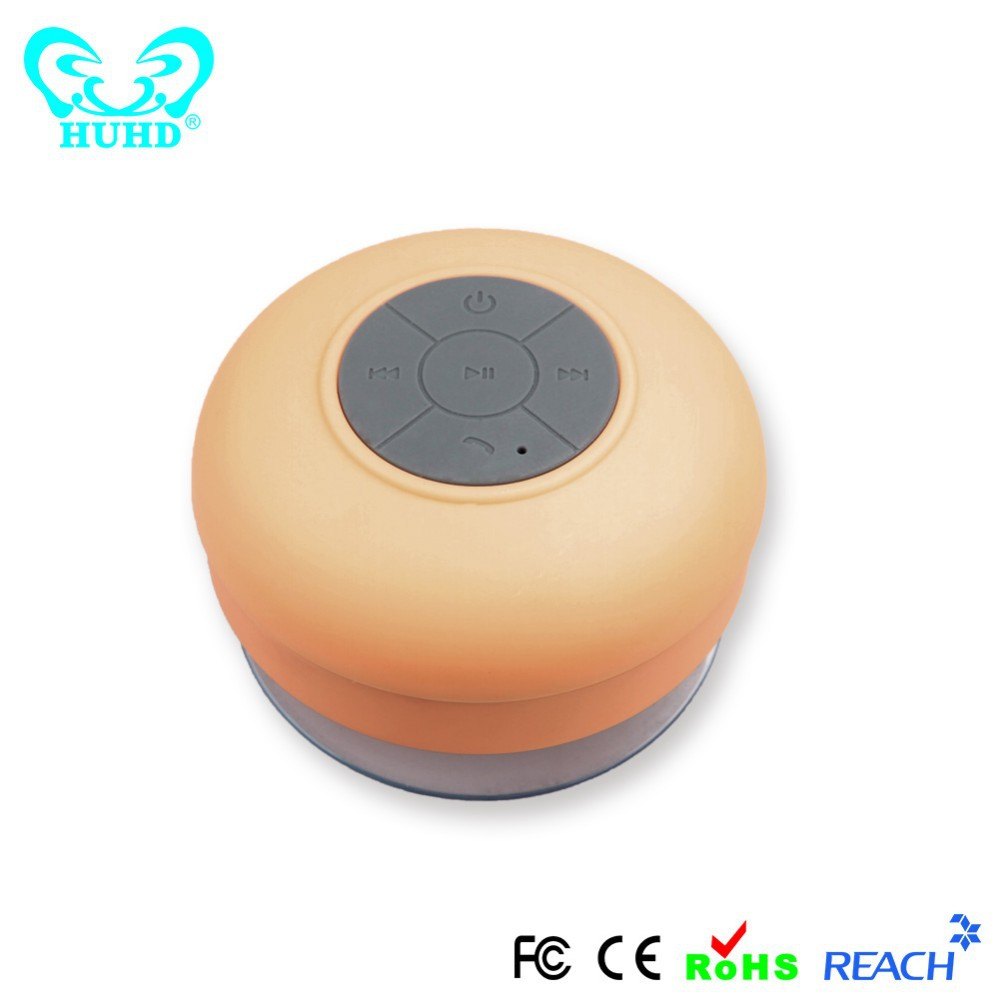Fashion Mini Waterproof Bluetooth Speaker Suction Cup Outdoor Speaker Covers Waterproof