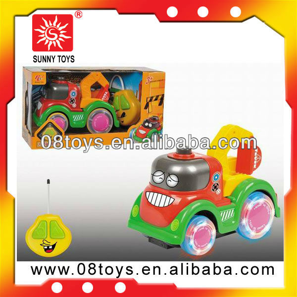 Remote control carton construction model car