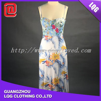 Emboridary high quality design fashion croset dress
