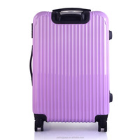 Multifunction best colorful printed hard trolley luggage suitcase