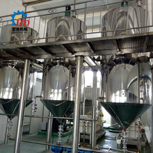 Good quality vegetable oil refining production line and dewaxing equipment
