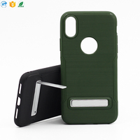 Hot selling 2D back cover phone case for iphone X
