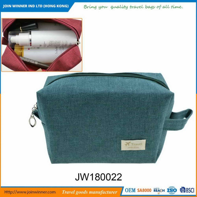 Aesthetic appearance Solid Cosmetic Bag With Ce Certification