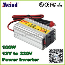 Meind 100w inverter for amorphous flexible solar panels dc to ac converter