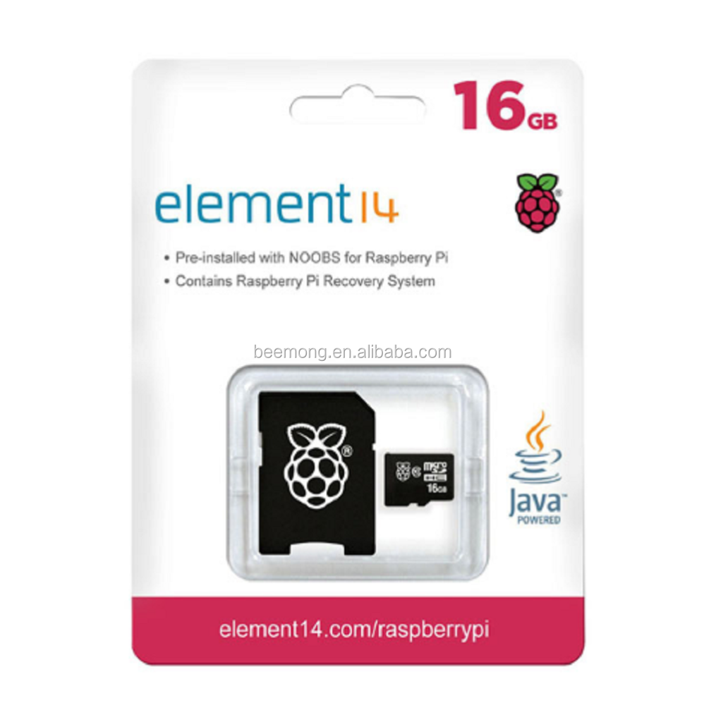 Official NOOBS Preloaded Micro SD Card for Raspberry Pi 3 Model B 8g/16g/32g TF Card for BPI 3 Banana M2 M1+plus D R1