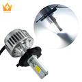 2015 new product H4/H13/9004/9007A336 all in one H4 cob headlight auto led headlight