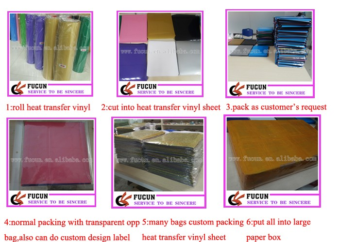 "alibaba wholesale Computer Cut PU Heat Press Thermal transfer vinyl roll sheet 12"" x 10"""