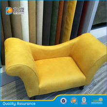 China High Quality 100% Polyester Genuine Suede Fabric for Sofa