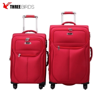 2018 wholesale factory trolley luggage bag fashionable suitcase sets