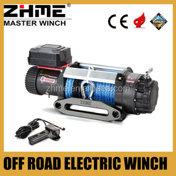 4wd 4x4 off road 15000lbs electric capstan winch with IP68
