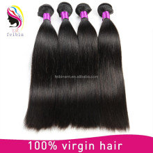 Factory Wholesale Price Unprocessed Straight Human Hair Weave Cheap Indian Hair