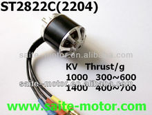 ST2822 high power rc brushless motor with rc electric motor wiring for rc airplane model spitfire