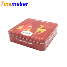 Customizable Square Tin Cans For Food Packaging Manufacturer
