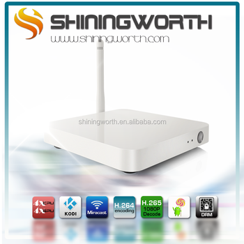 OEM ODM Shiningworth MXQ M6 smart tv box KODI 14.2 XBMC quad core Amlogic S805 android kitkat smart tv box addons preinstalled
