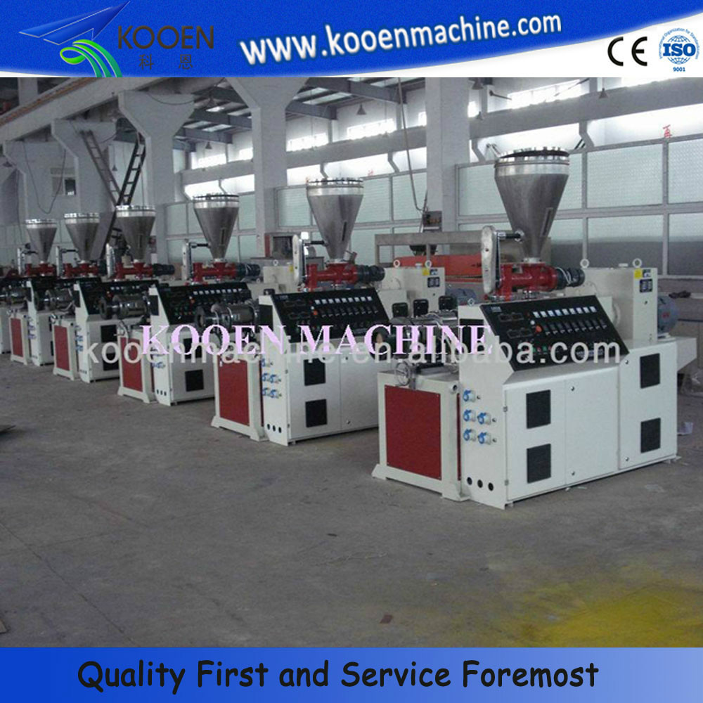 HOT plastic pvc four pipe belling machine