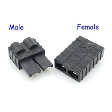 RC Traxxas TRX ( Male & Female ) Plug Connector for Lipo/NiMh Battery Brushless ESC Motor Connector
