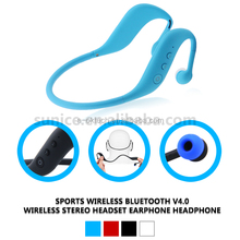 Water resistance 3 in 1 sport bluetooth headset with mp3 and fm